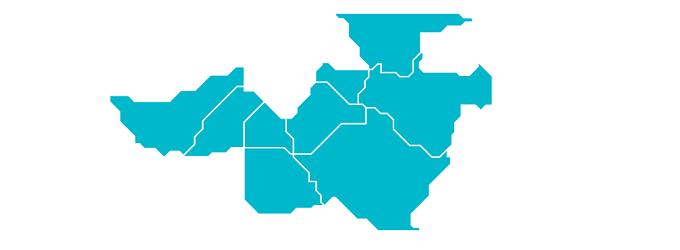 Distritos beneficiados