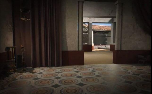 Recreación del mosaico