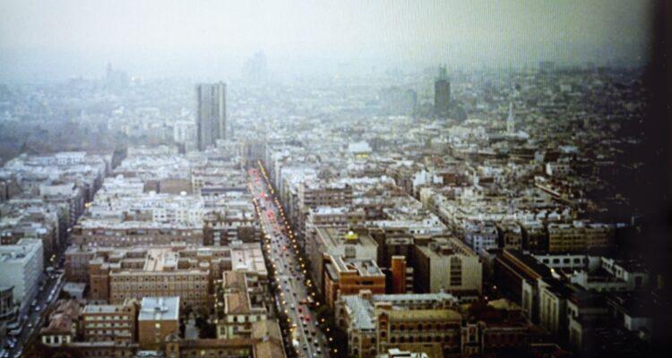Panorámica del Madrid de hace 25 años