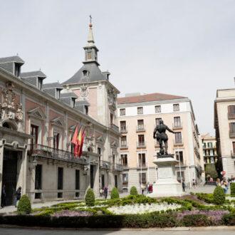Plaza de la Villa en el corazón de Madrid