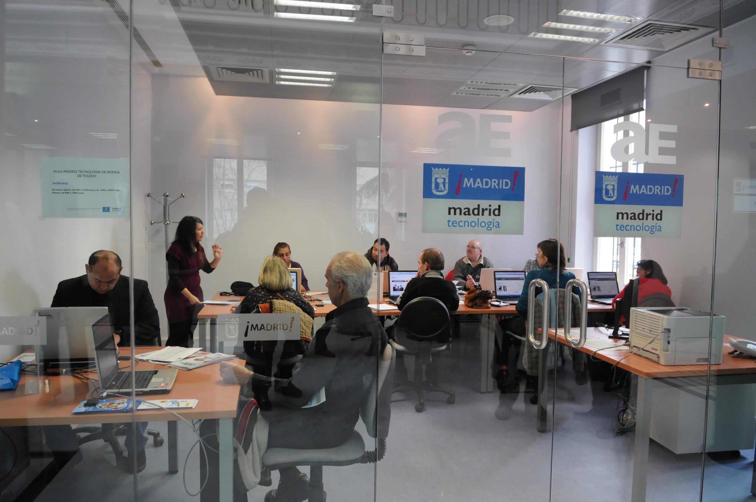 Imagen de archivo de cursos de la Agencia para el Empleo