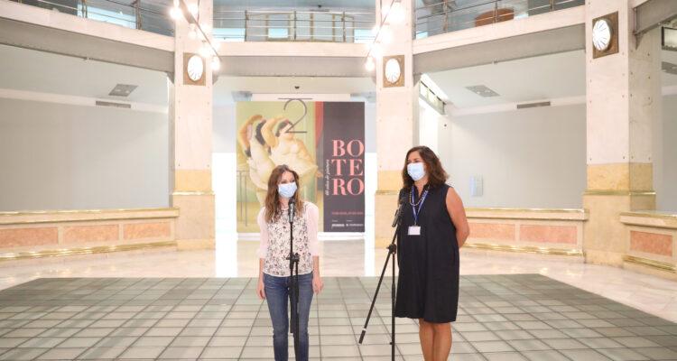 Andrea Levy y Giulietta Zanmatti-Speranza en Centro Centro