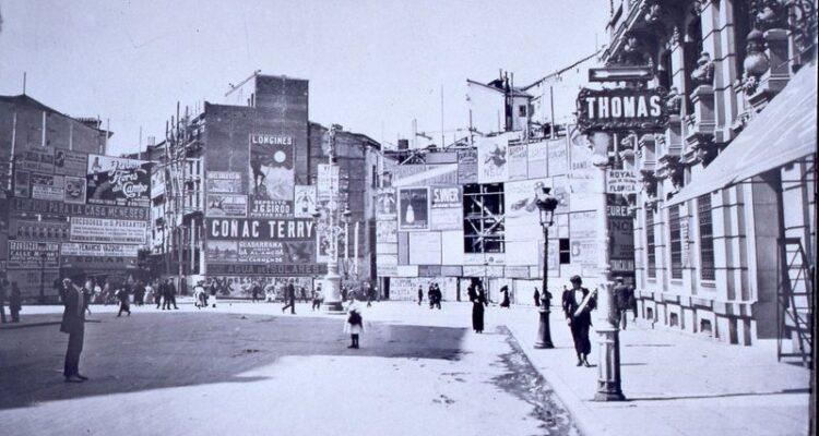 Plaza de Canalejas. 1914