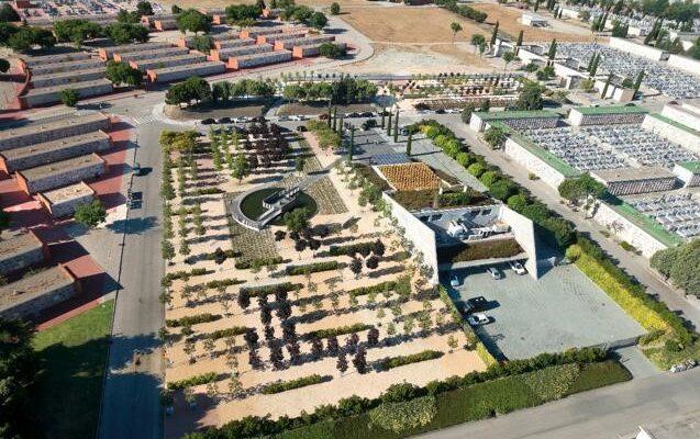 Imagen aérea Jardín del Recuerdo Sur