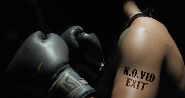 Boxeando contra el Covid (Julio Plaza. España)