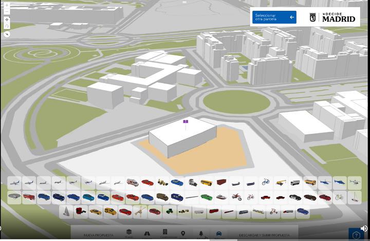 Imagen de ejemplo de la aplicación en 3D