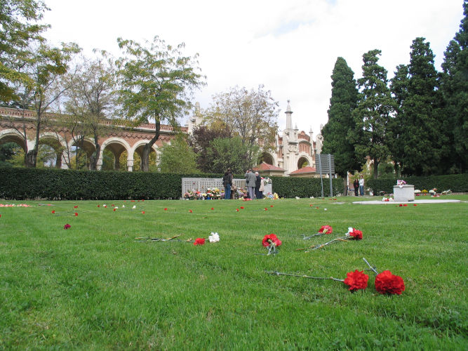 Imagen del cementerio de la Almudena