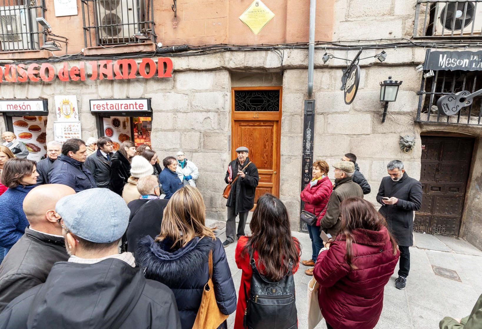 Vista guiada gratuita por el Madrid de Galdós