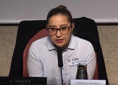Priscila Pacheco, El Foro de Taxco (México)