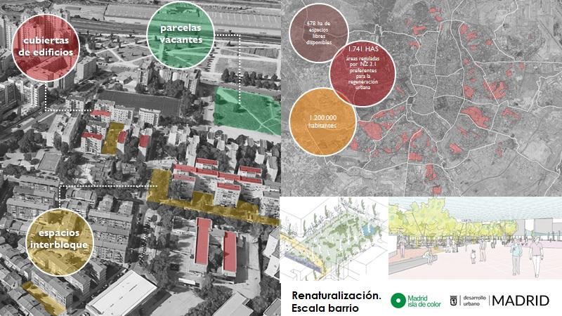 """Imagen del proyecto """"Madrid, isla de color"""""""