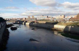 Vista de Arganzuela desde Madrid Río