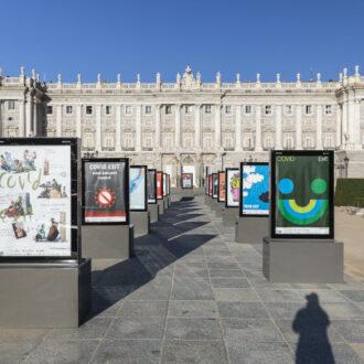 Imagen de la muestra de la plaza de Oriente