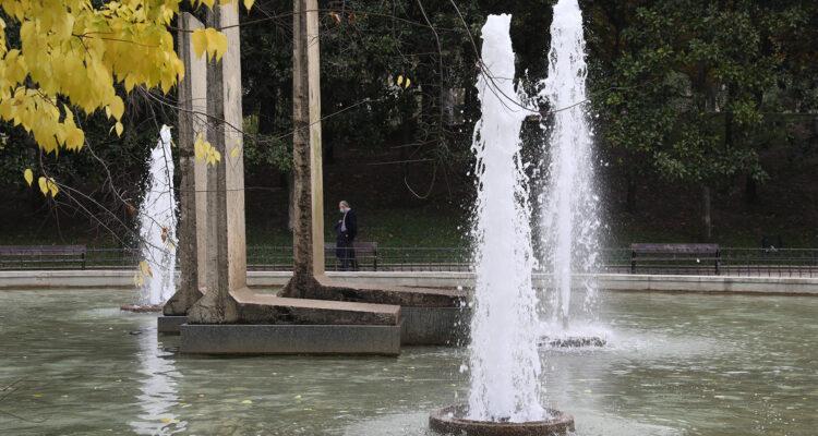 Restos del muro en el Parque de Berlín