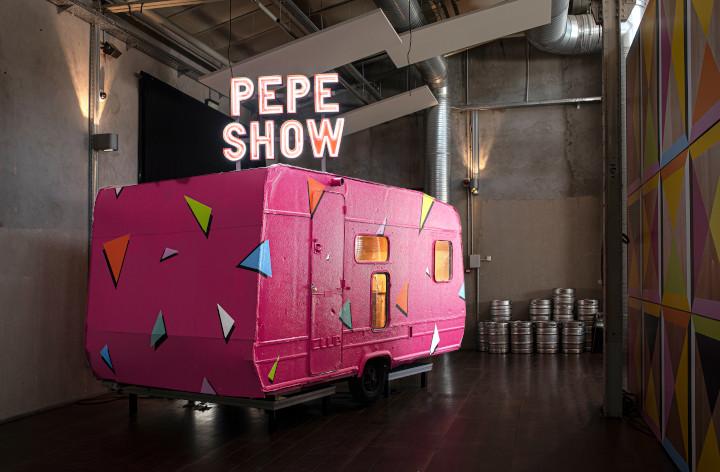 Pepe Show, una antigua caravana convertida en nuevo espacio expositivo.©-Vanessa-Rabade