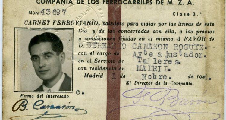 Carnet de ferroviario. Memoria de Madrid