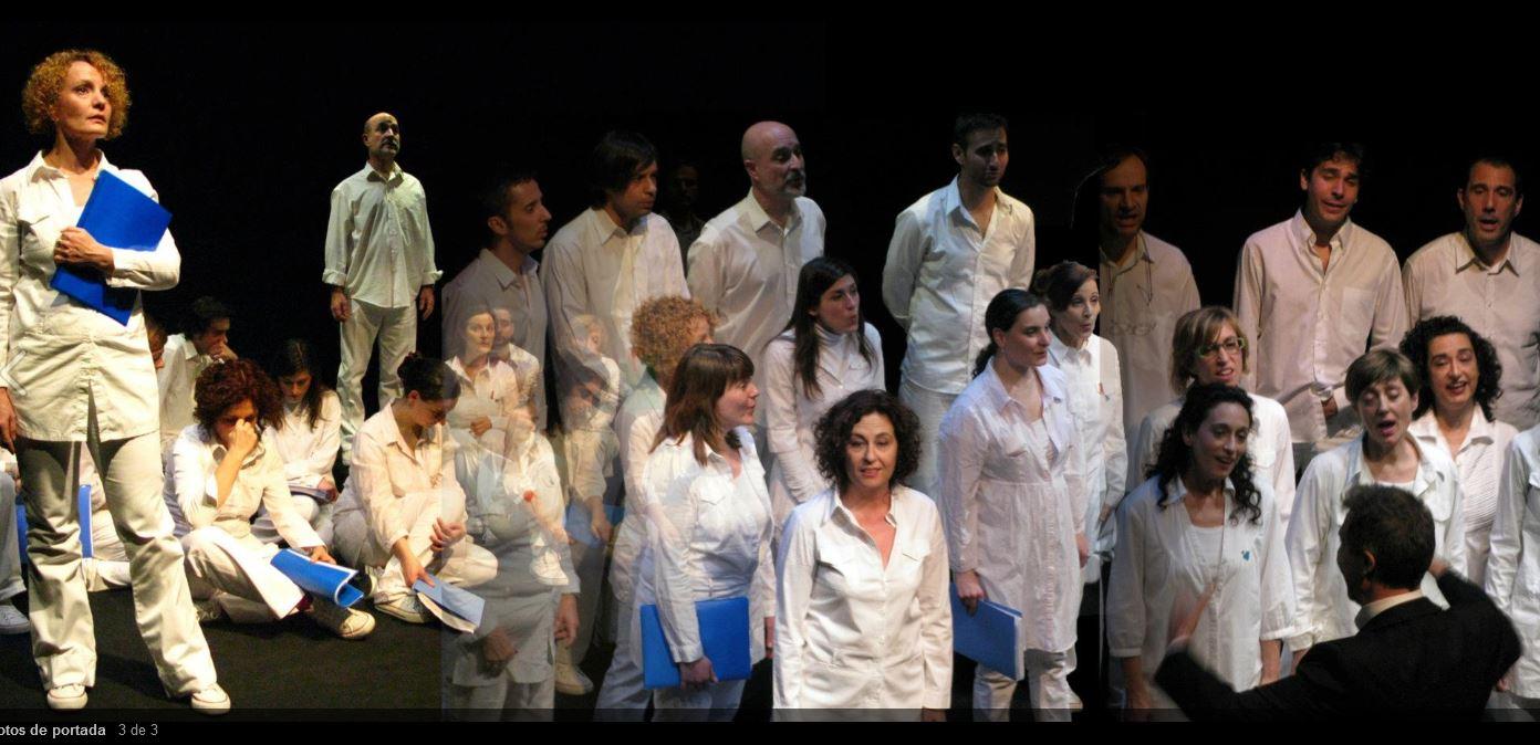 Coro de actores (Carabanchel)