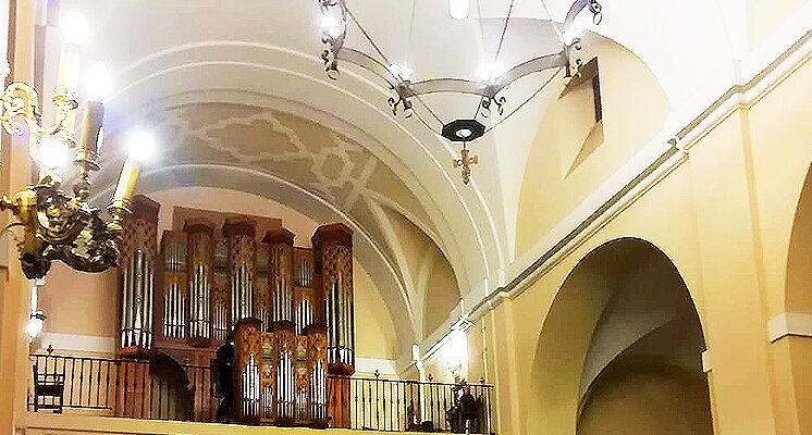 Órgano en Santa María la Antigua, Vicálvaro
