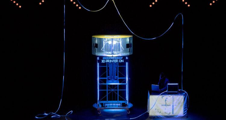 Jorge Blass. Invención (impresora 3D)