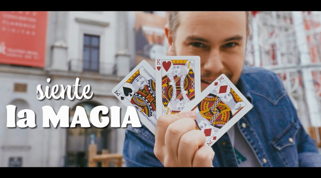 Jorge Blass (fotograma vídeo Navidad Ayuntamiento de Madrid 2020-21)