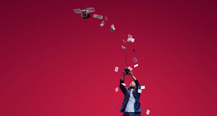 La magia de Jorge Blass (dron)