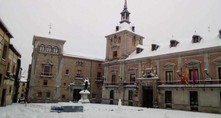 Plaza de la Villa nevada en 2021. Foto Pilar Oviedo
