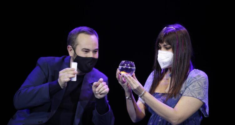 Actuación de Jorge Blas en la Gala Internacional de Magia en Escena