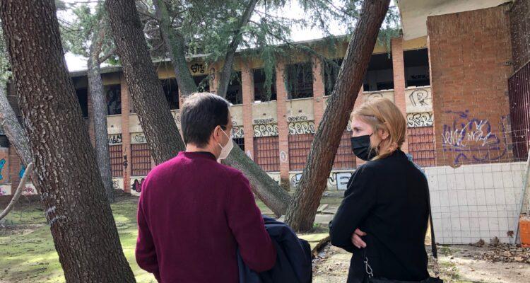 Saavedra y Casariego en el futuro Centro de Formación Especializado en TIC