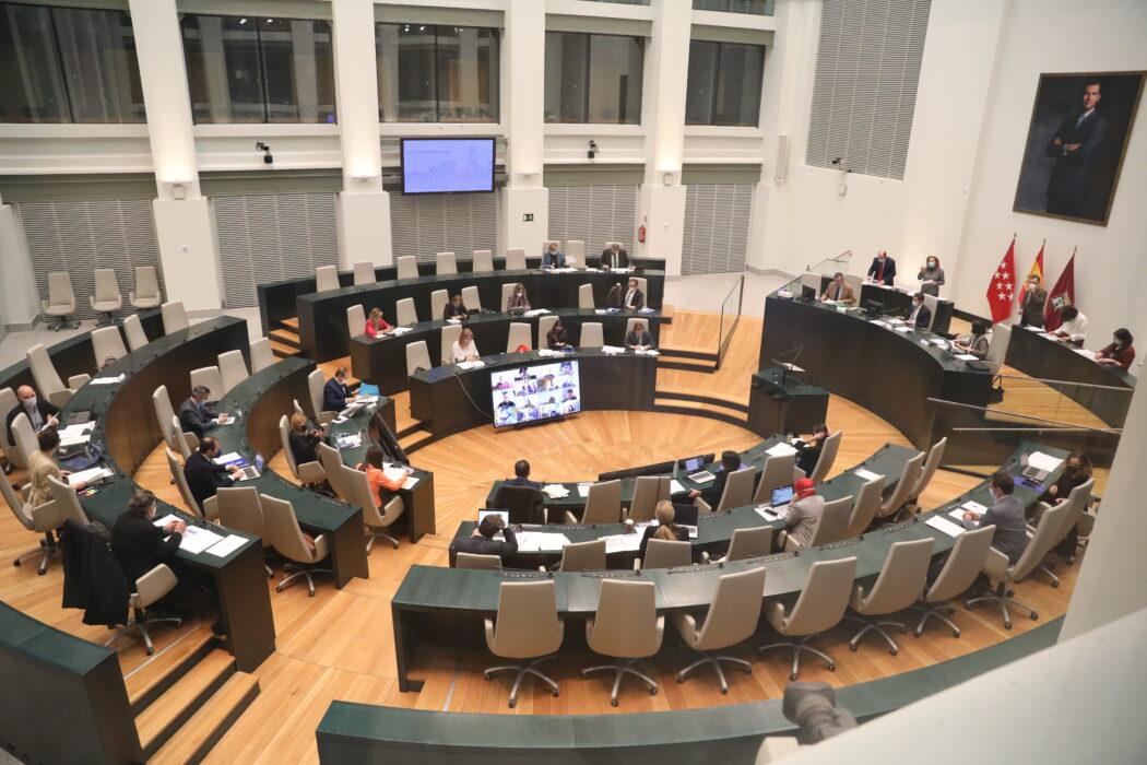 Pleno municipal del Ayuntamiento de Madrid