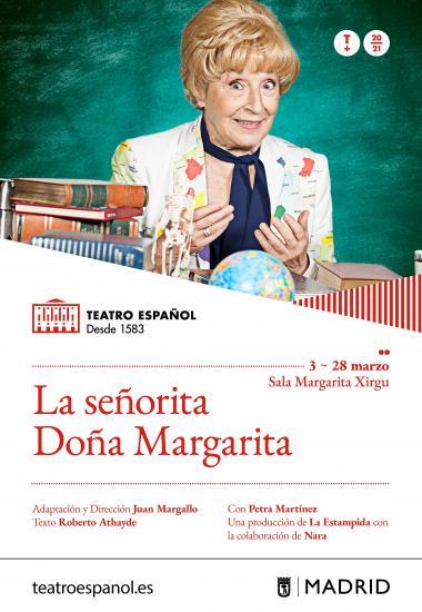 La señorita doña Margarita se estrena en el Teatro Español