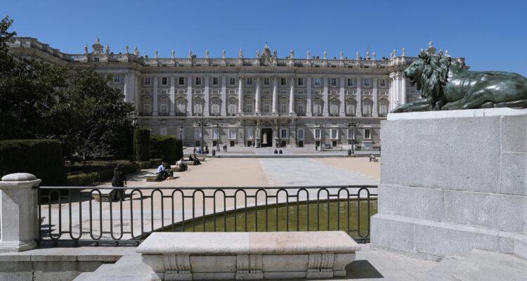 Año Sabatini, el Palacio Real desde la plaza de Oriente