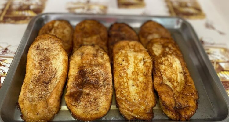 Torrijas del Horno de pan Chimbo