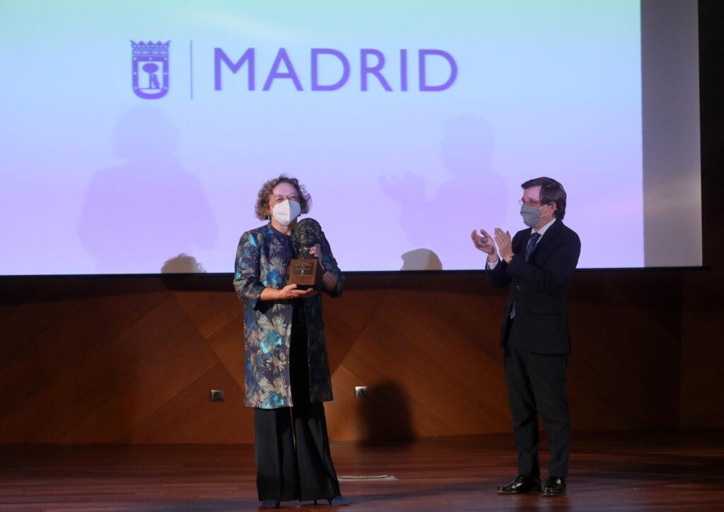 Imagen del acto de entrega del premio