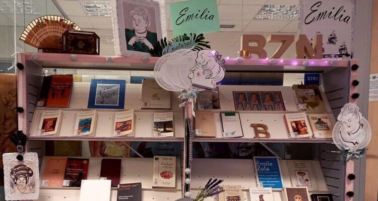 Pardo Bazán, en toda la Red de Bibliotecas Municipales