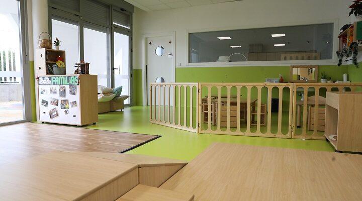 Escuela infantil municipal, imagen de archivo