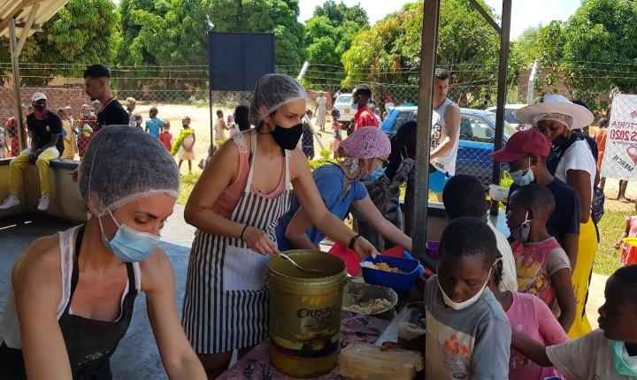 Solidaridad madrileña en Zimbawe