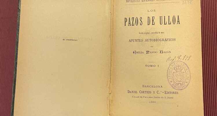 Los Pazos de Ulloa. Biblioteca Histórica