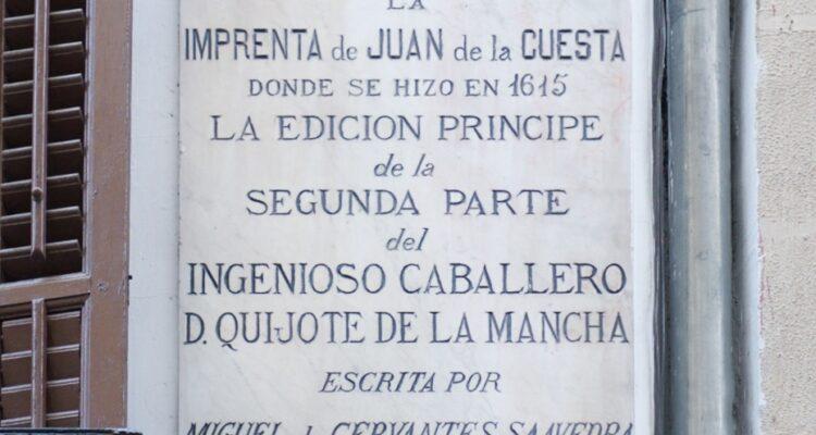 San Eugenio 7, donde se trasladó la imprenta de Juan de la Cuesta