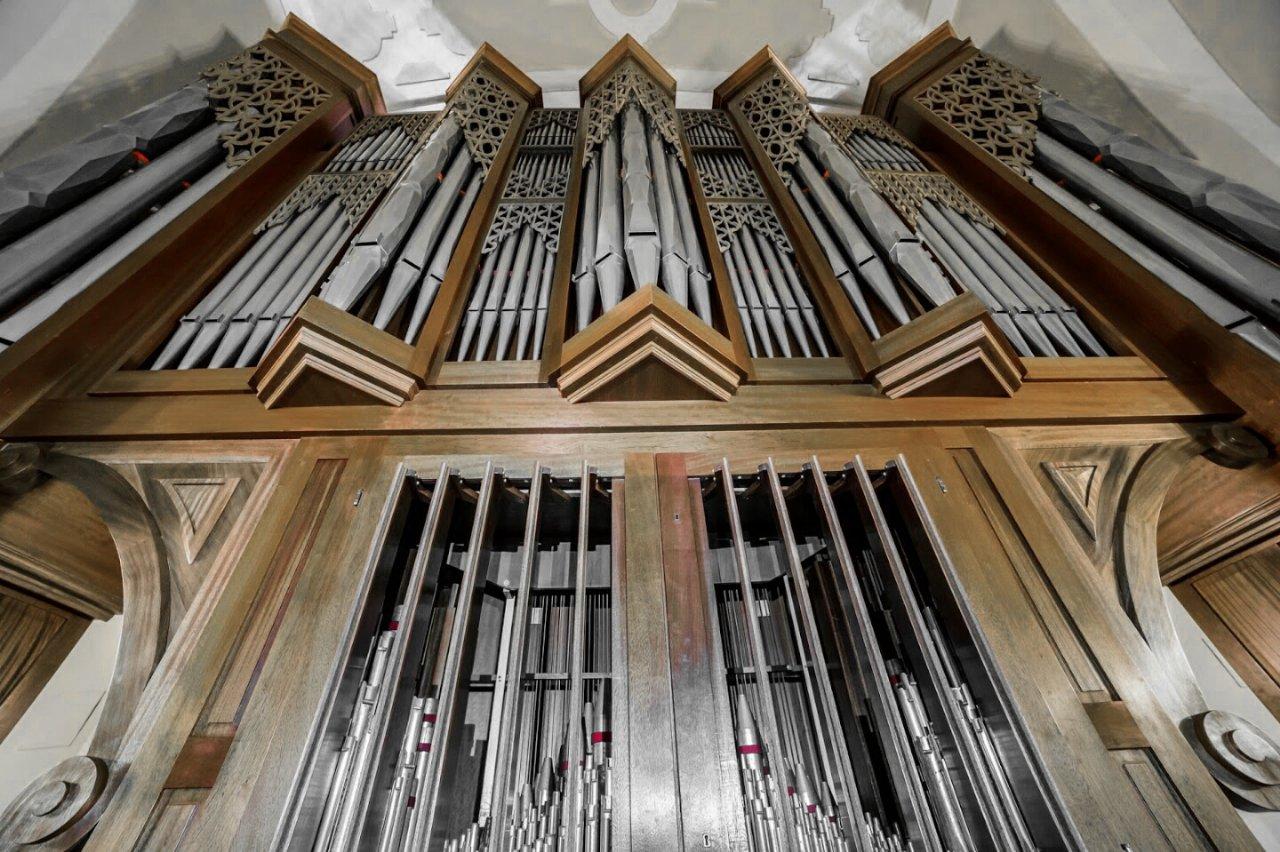 Órgano de Vicálvaro en Santa María la Antigua
