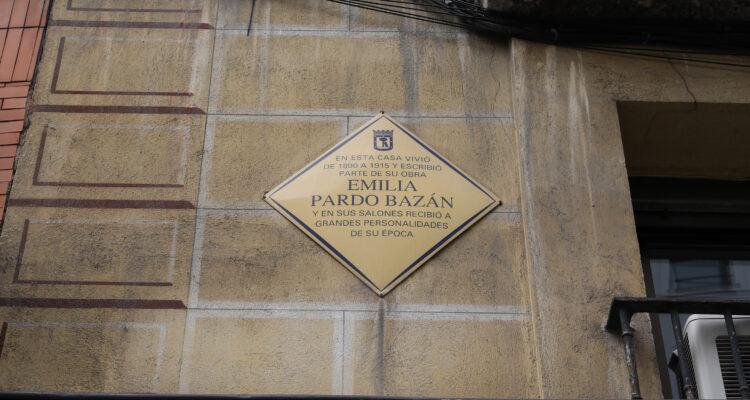 Placa del Plan Memoria de Madrid