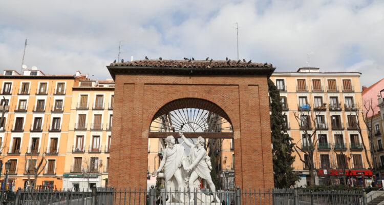 Plaza del Dos de Mayo, el corazón de Malasaña