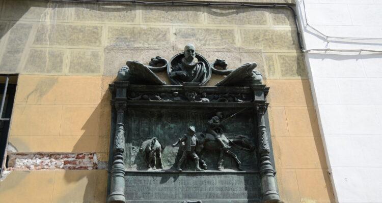 La Sociedad Cervantina se ubica donde estuvo la imprenta de la que salió la primera edición de El Quijote en Atocha, 87