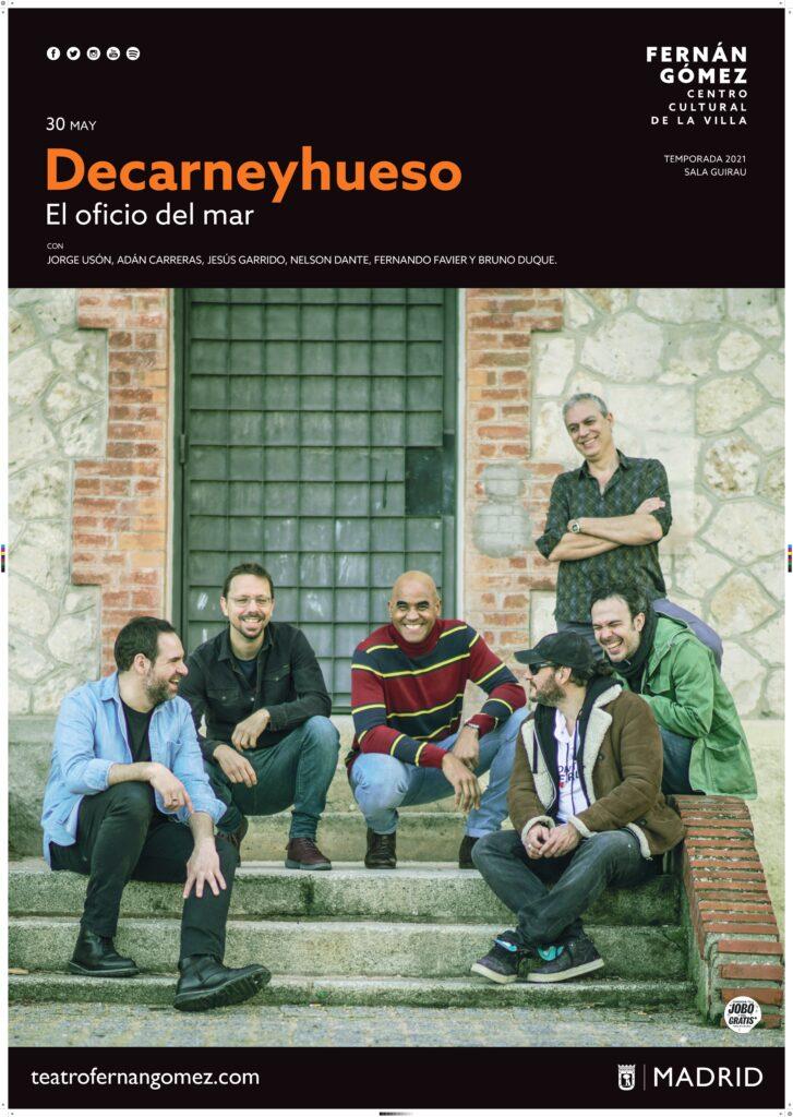 Decarneyhueso presenta su último álbum