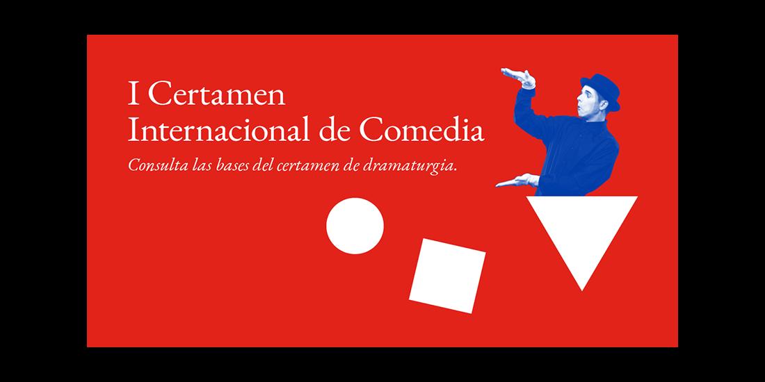 Cartel del I Certamen Internacional de Comedia