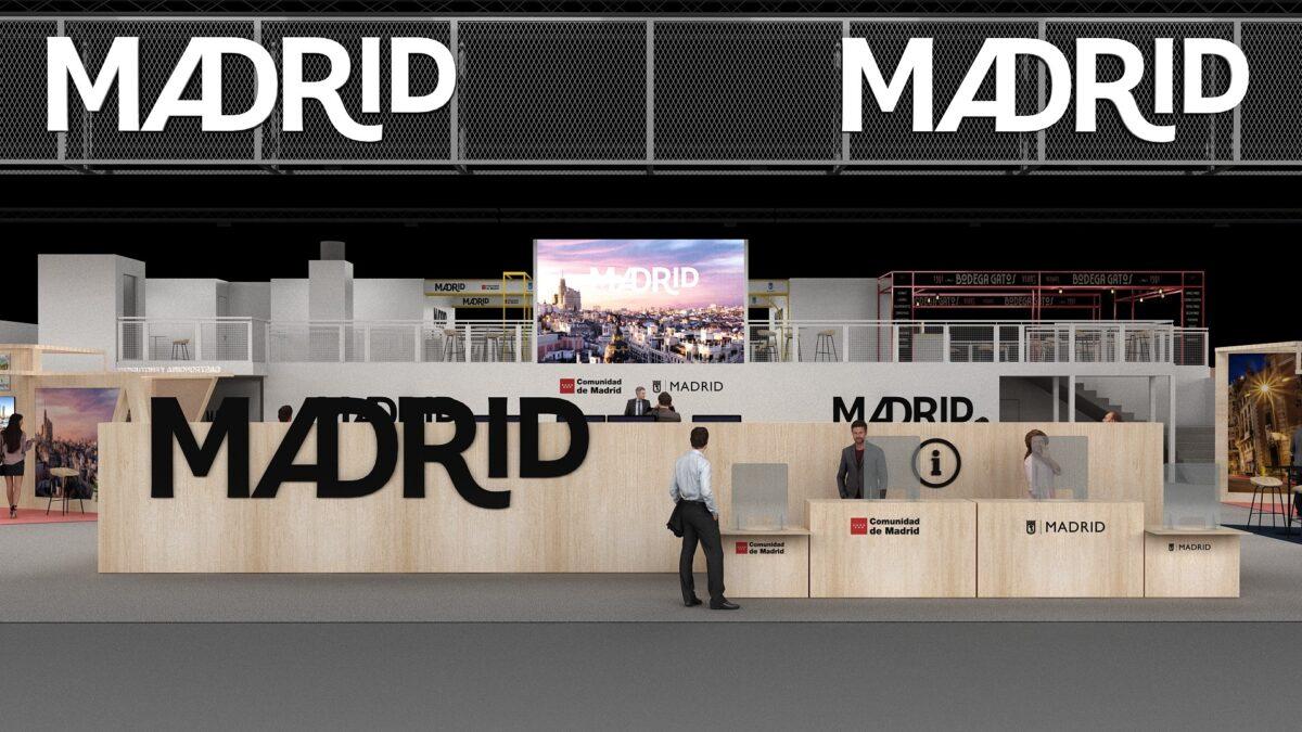 Imagen del estand de Madrid en Fitur