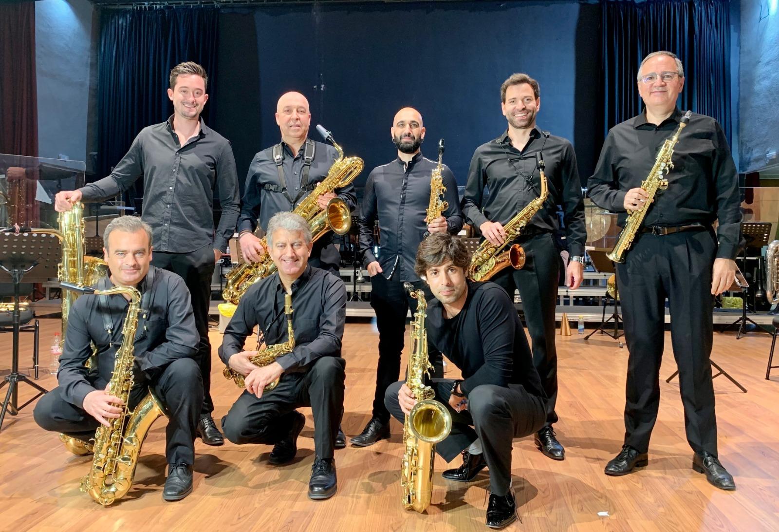 Grupo de metales dela Banda Sinfónica Municipal