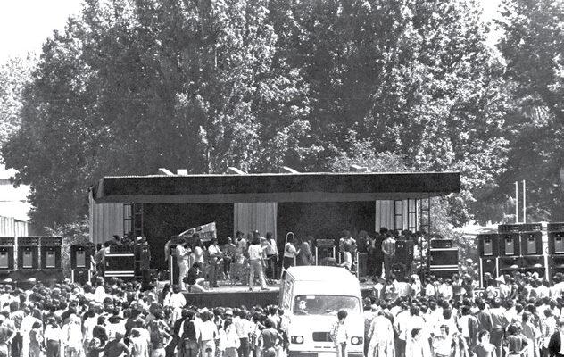 I Premio Villa de Madrid de música rock. Pista de exhibiciones Feria del Campo 1978 (Archivo Mariskal Rock)