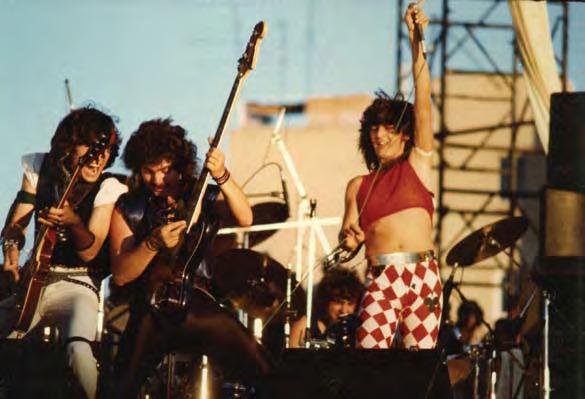 Sangre Azul gana el Villa en 1985 en la categoría Rock duro (Foto: Mario Scaso)