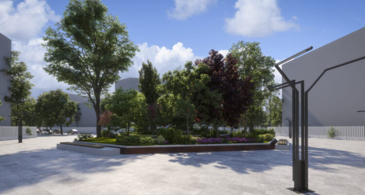 Proyecto de urbanización Los Berrocales. Vicálvaro