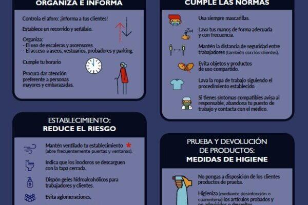 Información para el comercio minorista no alimentario
