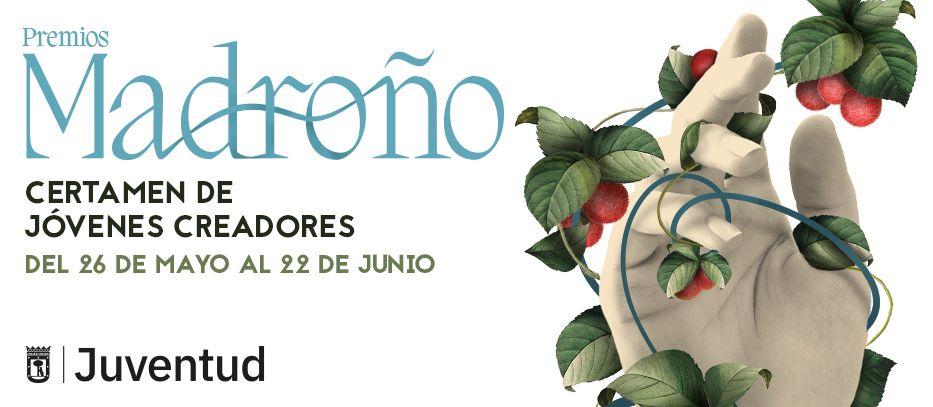 Gráfica de Premios El Madroño. Certamen Jóvenes Creadores 2021
